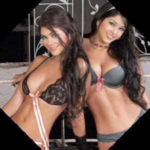 Две соблазнительные красавицы